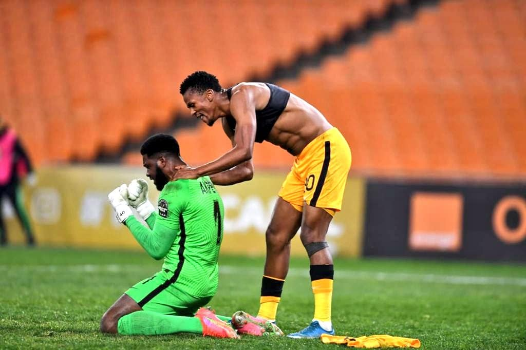CAFCL: Akpeyi Stars As Kaizer Chiefs Hold Wydad, Secure Final Spot