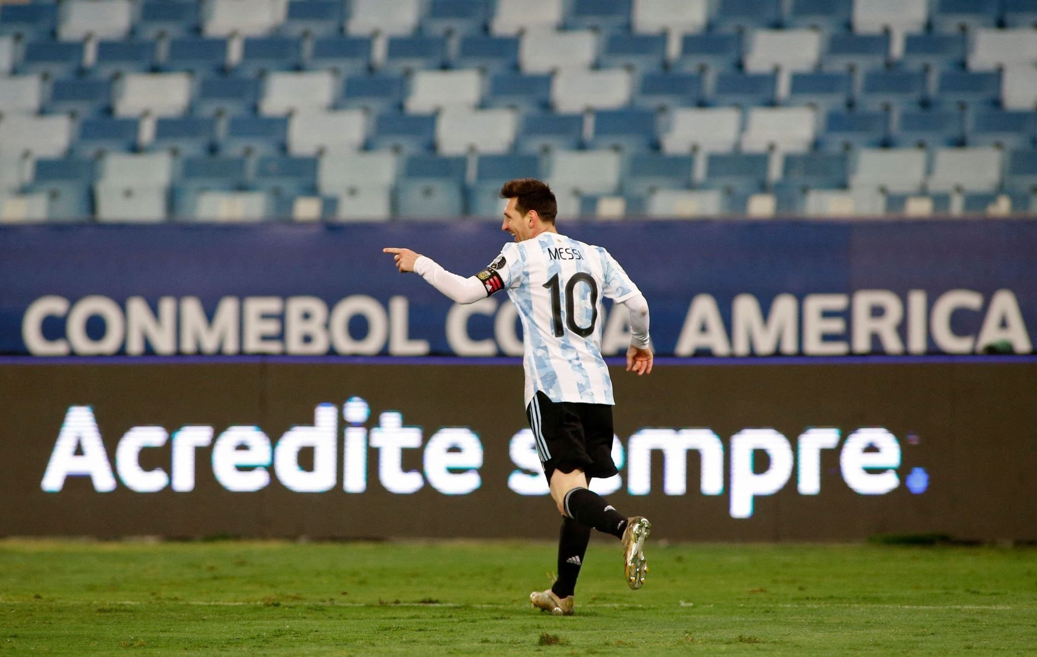 Copa America: Record-Breaking Messi Bags Brace As Argentina Thrash Bolivia 4-1