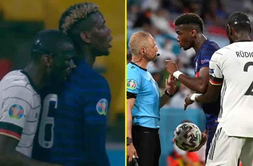 Euro 2020: Pogba Plays Down Rudiger 'Bite'