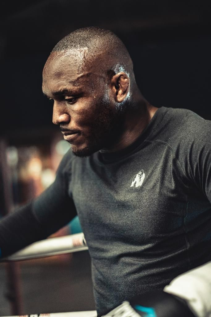Excitement Builds As World Champion Kamaru Usman Arrives In Nigeria, Launches  CSR Initiative