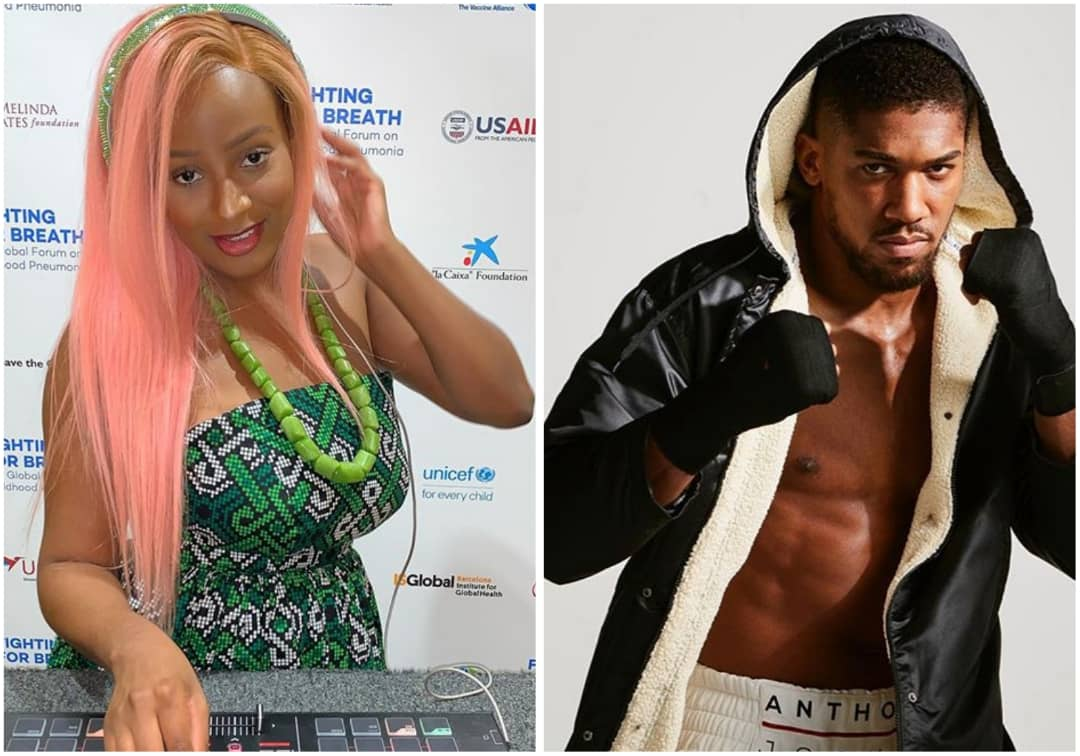 Anthony Joshua Sparks Dating Rumour With DJ Cuppy