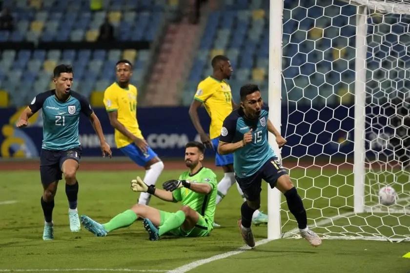 Copa America: Ecuador End Brazil's Winning Run, Qualify For Q/finals