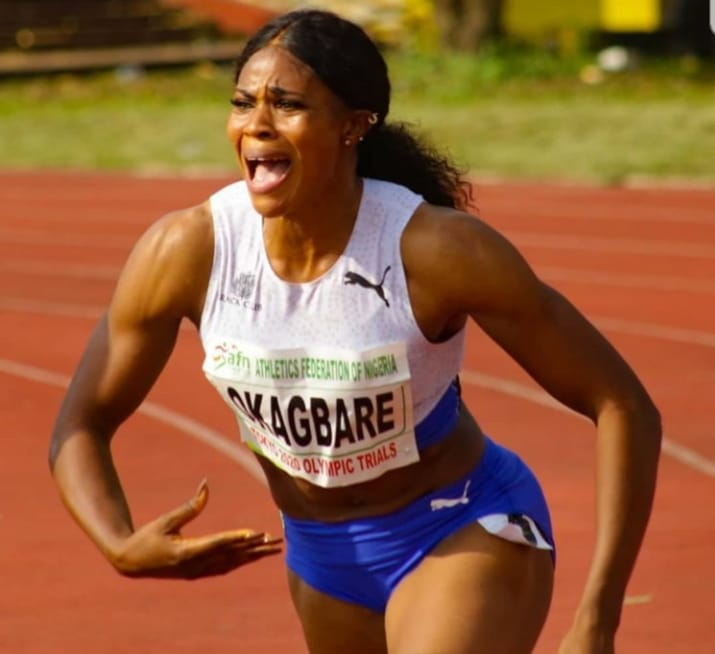 Okagbare Bags New 100m Personal Season's Best, Finishes 4th In Hungary