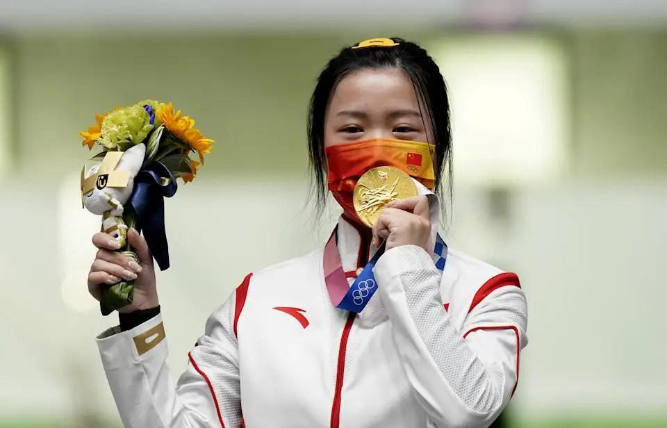 Tokyo 2020: China's Qian Yang Claims First Gold Medal