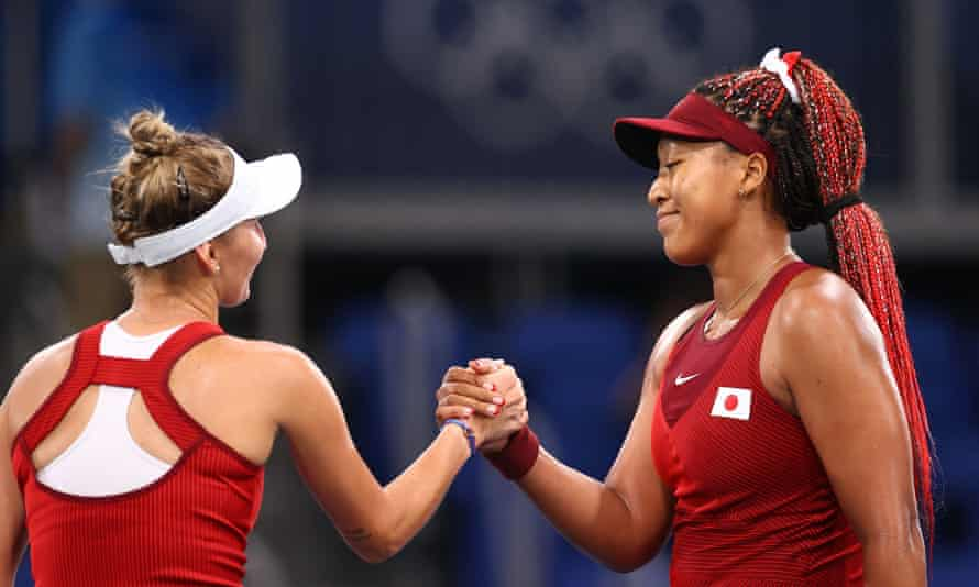 Tokyo 2020: Osaka Booted Out In Third Round By Vondrousova
