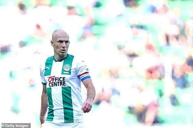 Netherlands Legend Robben Retires For The Second Time Aged 37