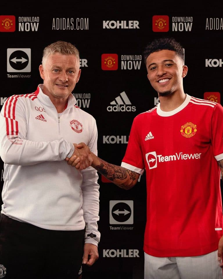 OFFICIAL: Man United Complete Signing Of Sancho