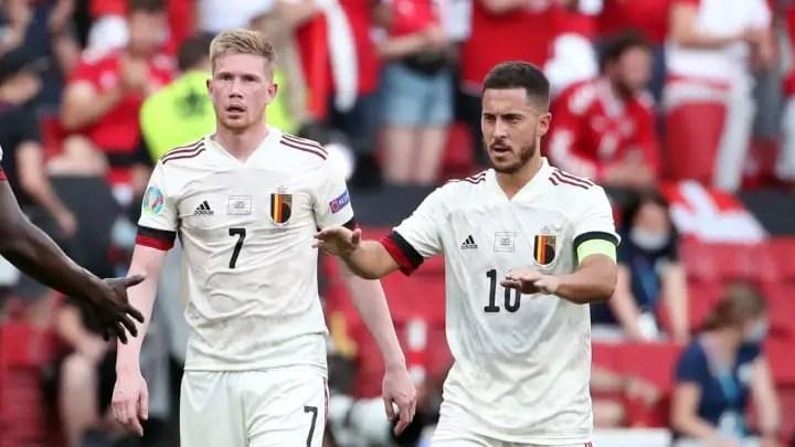 Euro 2020: De Bruyne, Hazard May Play Against Italy -Martinez