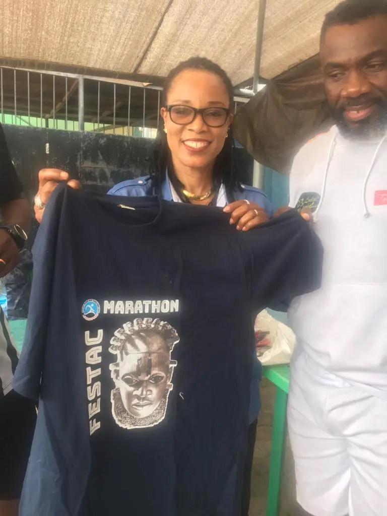 Olympic Gold Medal Winner Ajunwa Endorses Maiden Festac Half Marathon
