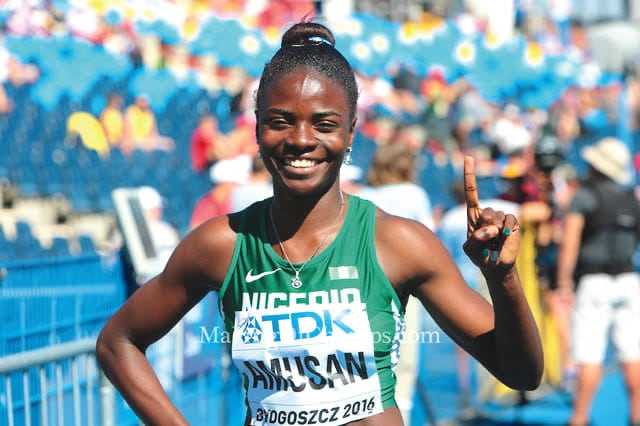 Amusan: We Are Ready For Tokyo 2020 Olympics