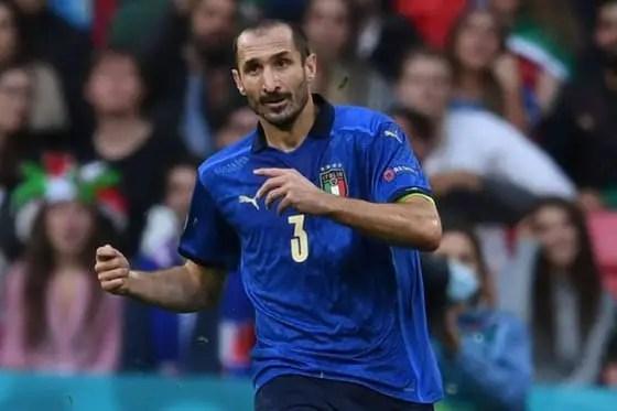 Chiellini Deserves Better Recognition After Euro 2020 Success -Fernandes