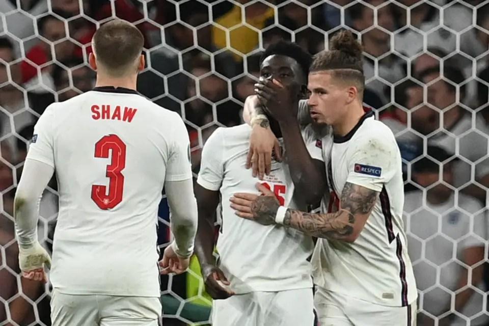 Euro 2020: Mourinho Blames England's Senior Players For Saka's Penalty Miss
