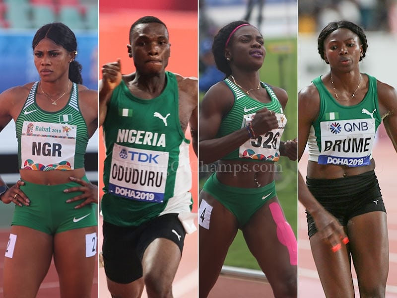 Team Nigeria's 25-Member Team For Tokyo 2020 Athletics Events: The Profiles