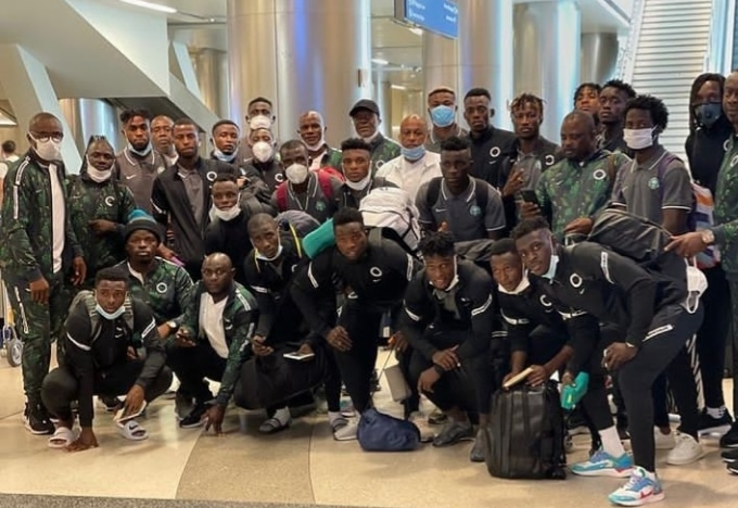 Home-based Eagles Arrive USA For Mexico Friendly