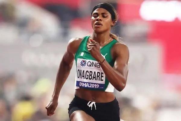 Tokyo 2020: Okagbare Blames AFN Over Ban Of 10 Nigerian Athletes