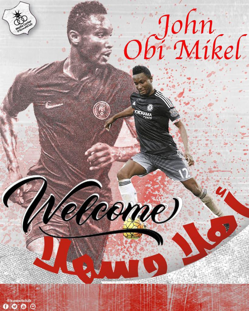 OFFICIAL: Mikel Dumps Stoke City For Kuwaiti Giants