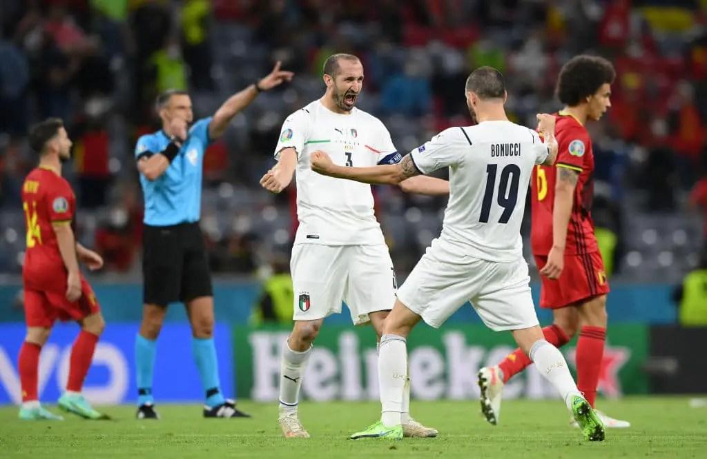 Euro 2020: Italy Edge Belgium To Book Semi-final Spot