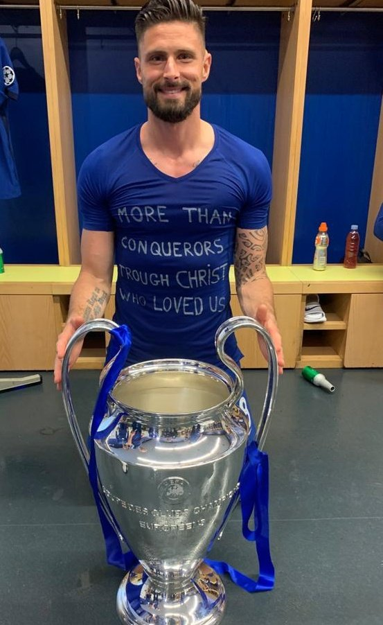 Giroud Pens Farewell Message To Chelsea Fans Ahead Milan Move