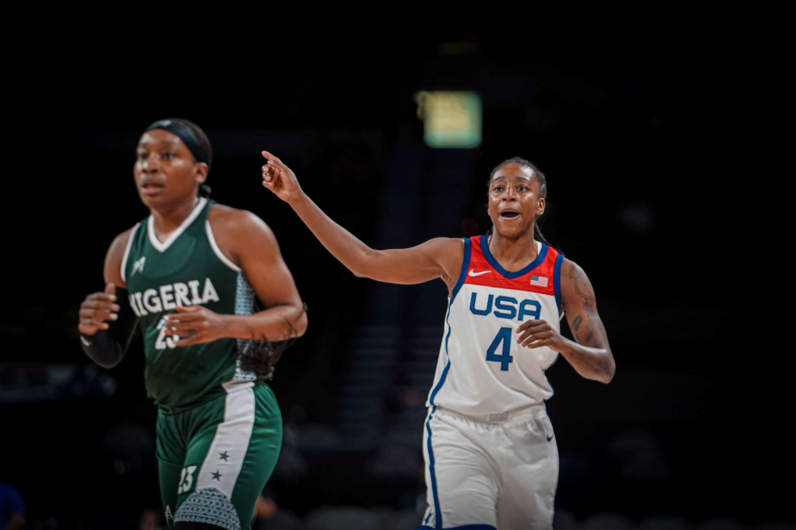 Pre-Olympic Friendly: D'Tigress Lose To USA In Final Exhibition Game
