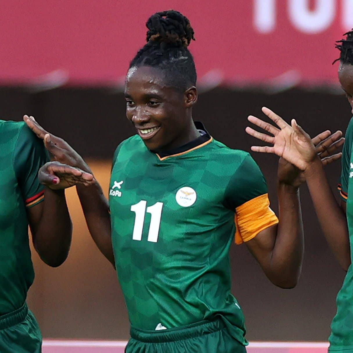 Tokyo 2020 Football: Banda Makes Olympic History Again As Zambia Hold China In Eight-Goal Thriller