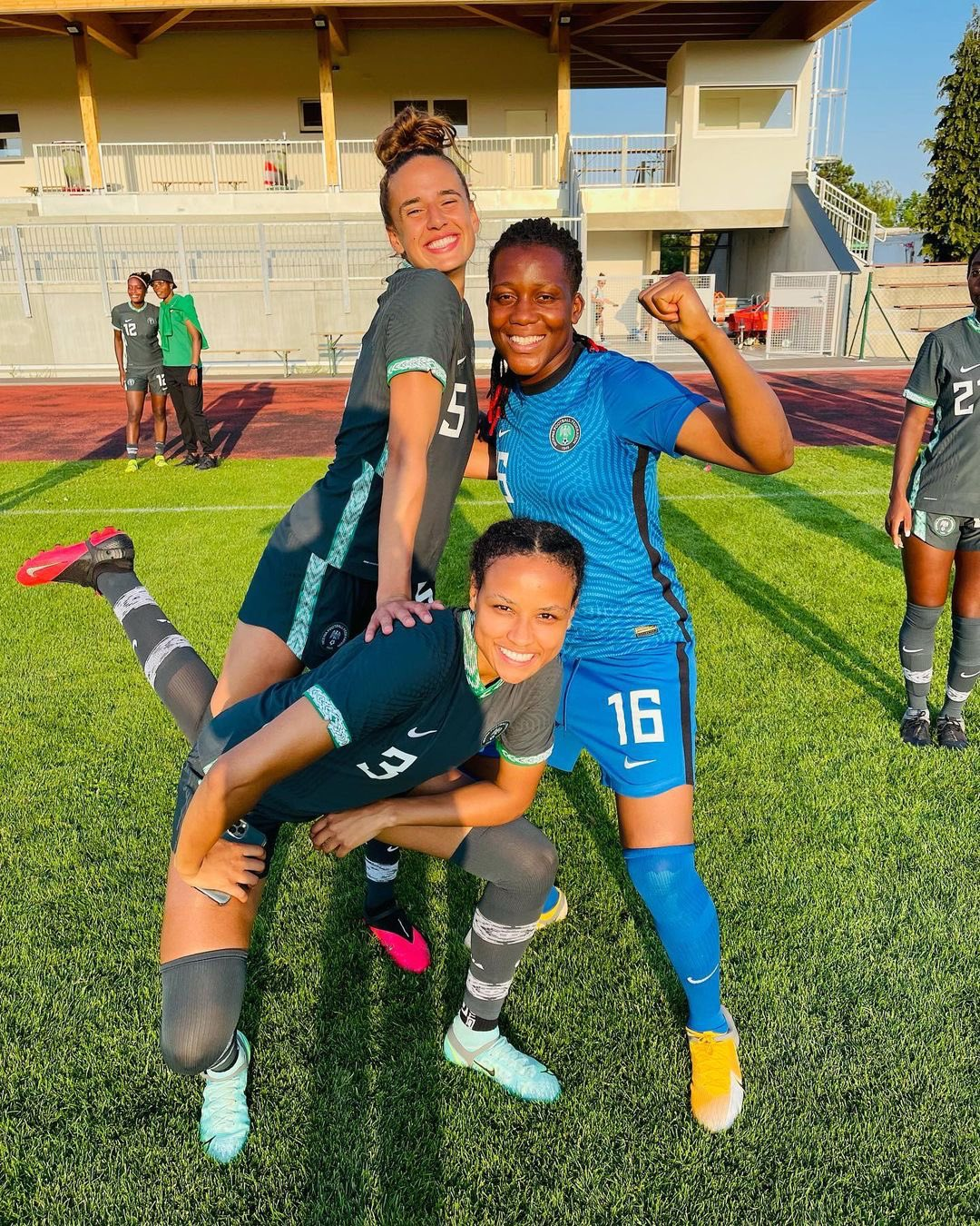 Leicester  Star Ashleigh Plumptre Relishes Time With Super Falcons In Austria