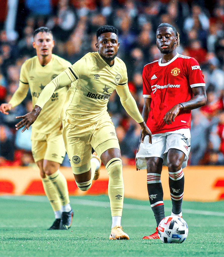 Brentford Boss Hails Onyeka After Impressive Debut Vs Manchester United