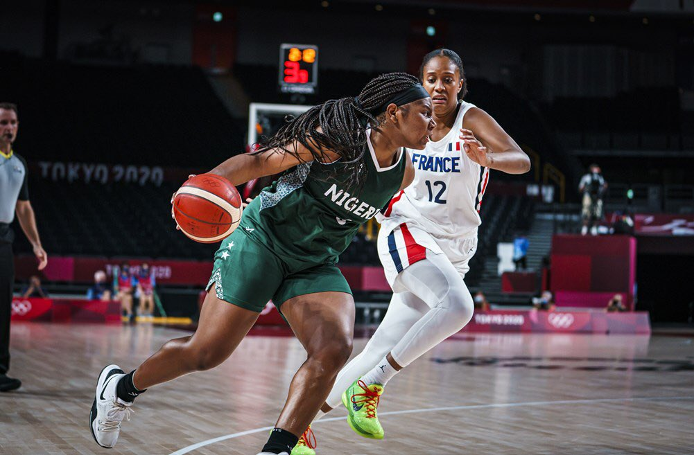Tokyo 2020: D'Tigress Lose Again; Bow To France 87-62