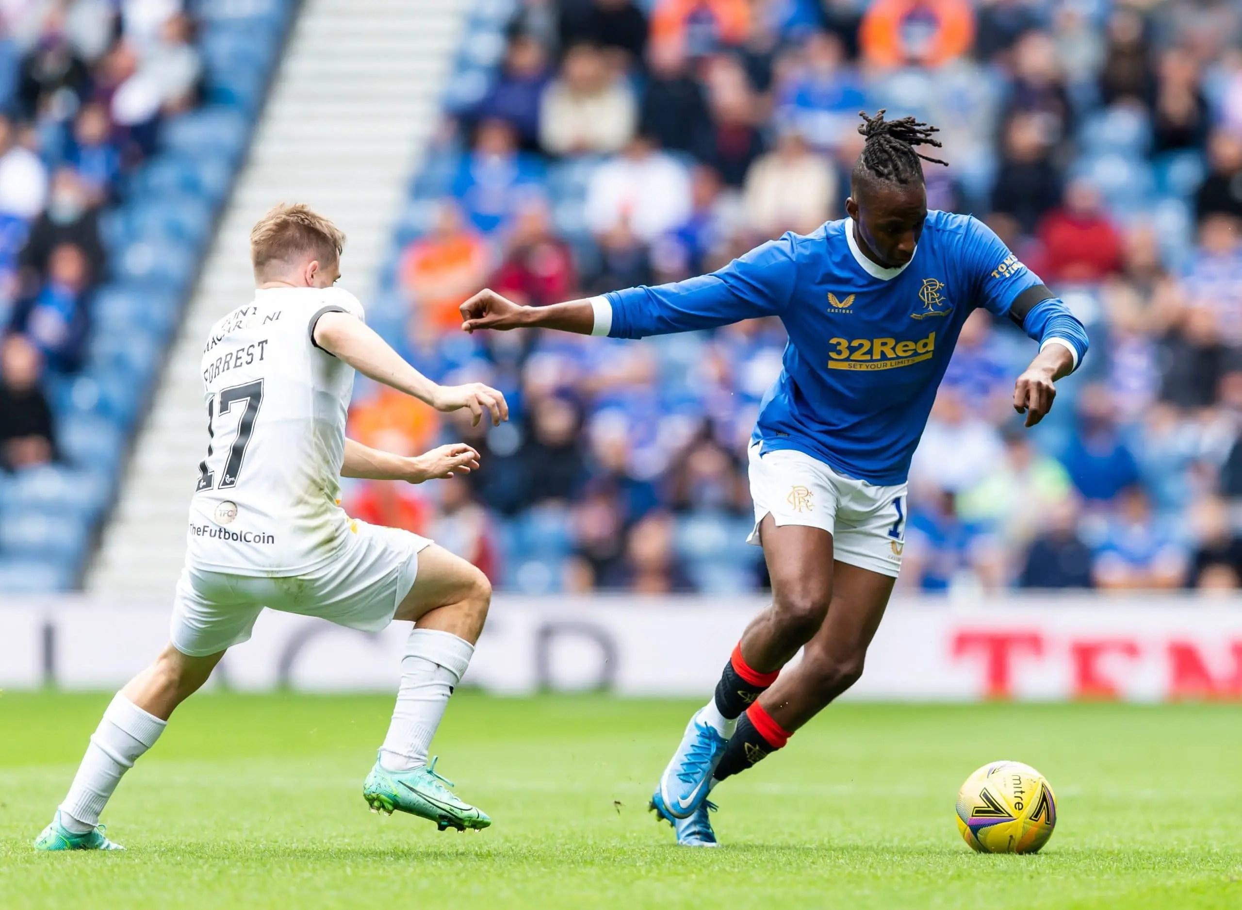 Scotland: Aribo, Balogun In Action As Rangers Thrash  Livingston In Season Opener