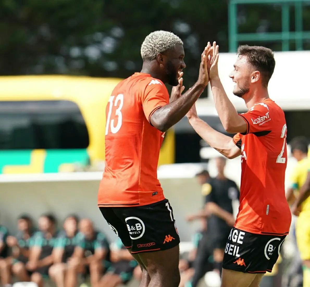 Moffi Nets Second Pre-season Goal As Lorient Edge Ligue 1 Side Anger
