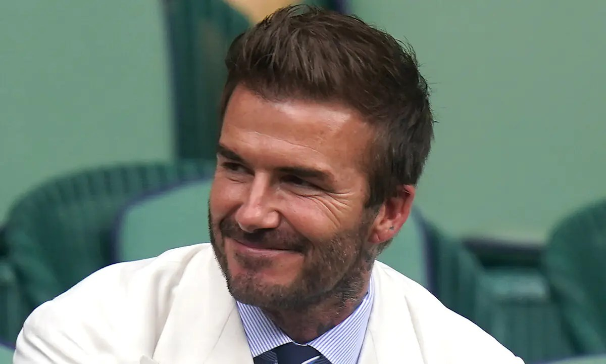 Beckham Questioned By Italian Police