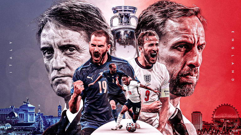 Euro 2020 Final: England Target First Title, Face Stiff Test Against Italy Tonight