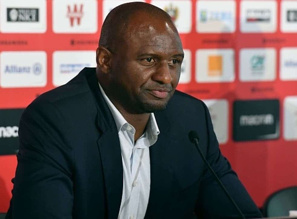 Arsenal Legend Vieira Appointed Crystal Palace New Manager