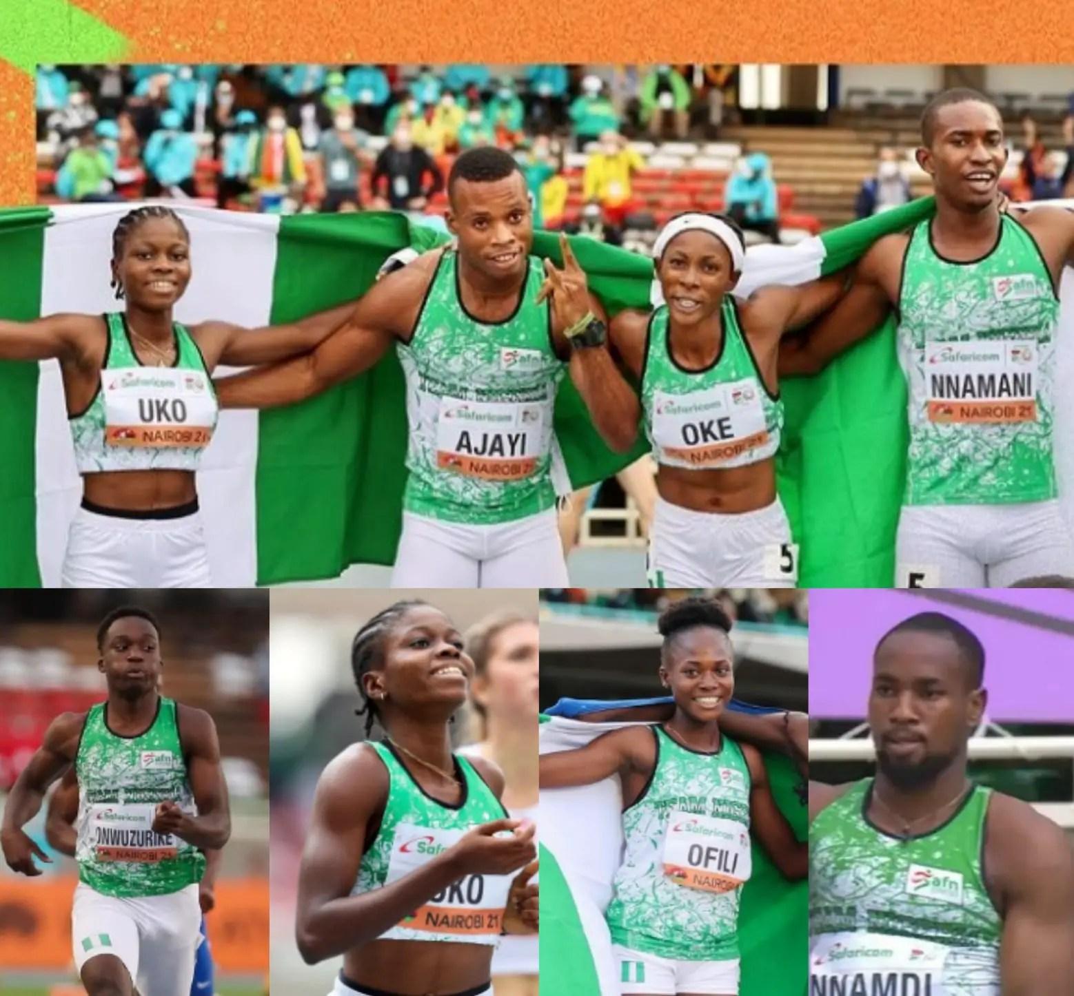 World Athletics U-20: Sports Minister Announces Cash Awards For Team Nigeria's Medallists; NCAA Rules Upheld