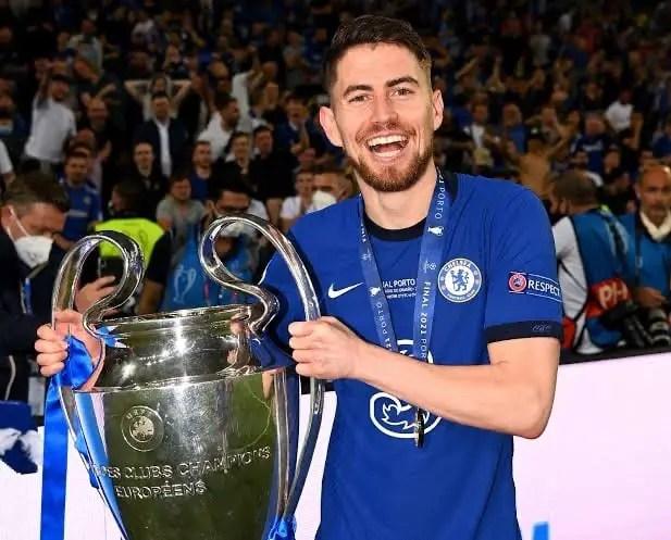 Chelsea's Jorginho Named 2020/21 UEFA Player Of The Season