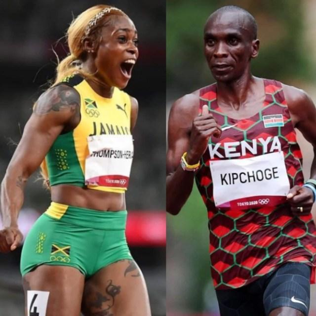 elaine-thompson-herah-eliud-kipchoge-jamaica-kenya-tokyo-2020-olympics-sprint-sports-industry