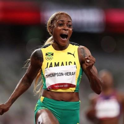 elaine-thompson-herah-sprint-jamaica-tokyo-2020-olympics-sports-industry