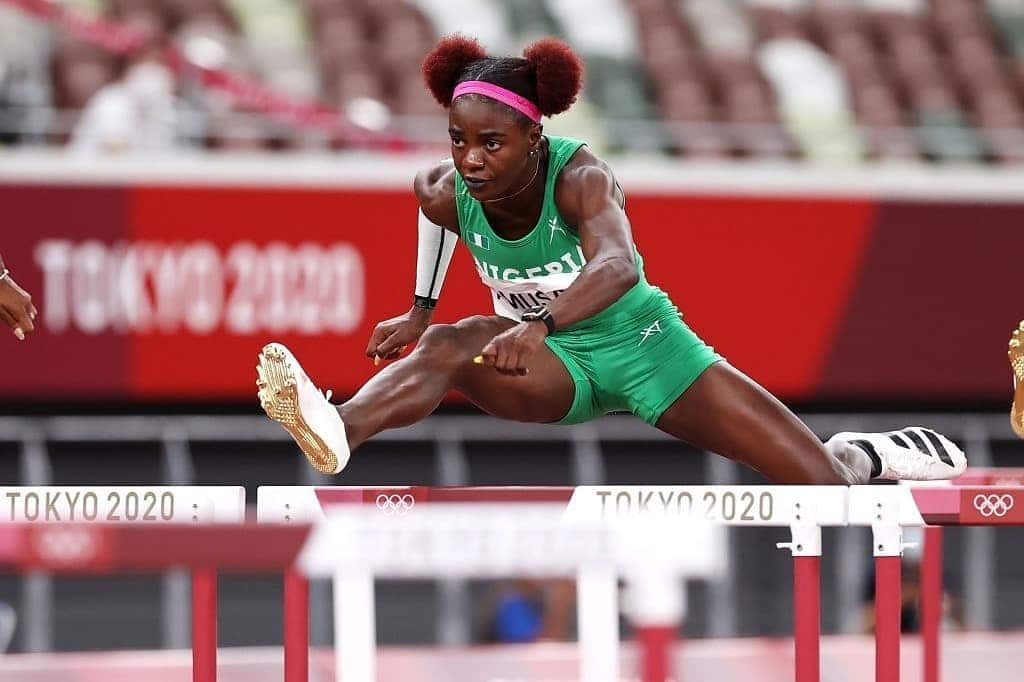 Tokyo 2020: Tobi Amusan Zooms  Into 110m Hurdles Final