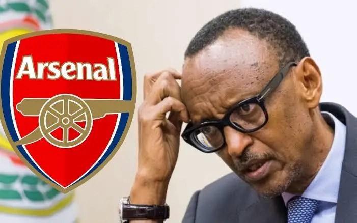 Rwanda President Kagame Reacts To Arsenal's Shock Defeat To Brentford