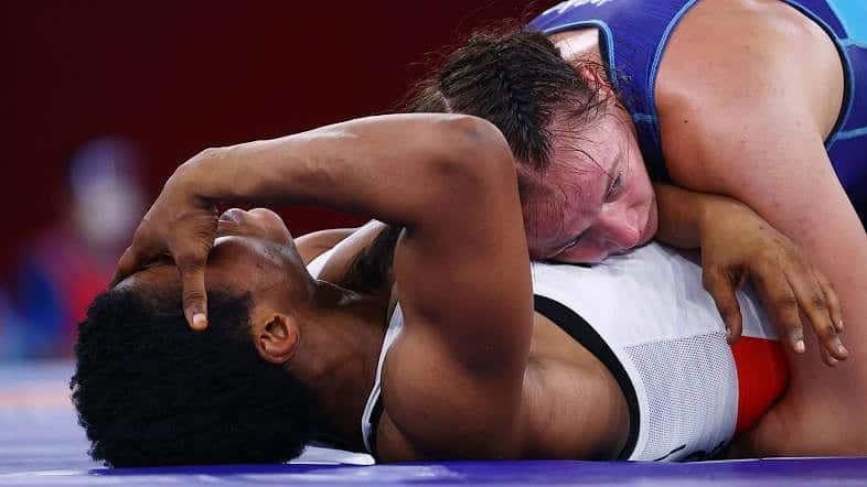 Tokyo 2020 Wrestling: Adeniyi Suffers Painful Defeat To Reigning European Champion