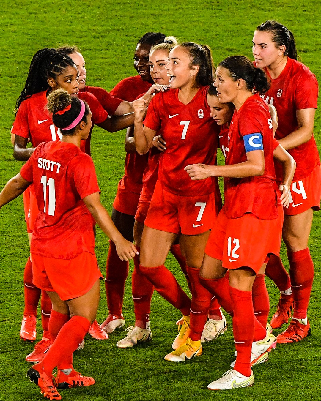 Tokyo 2020  Women's Football:  Canada Beat Sweden To Win First Olympic Gold Medal