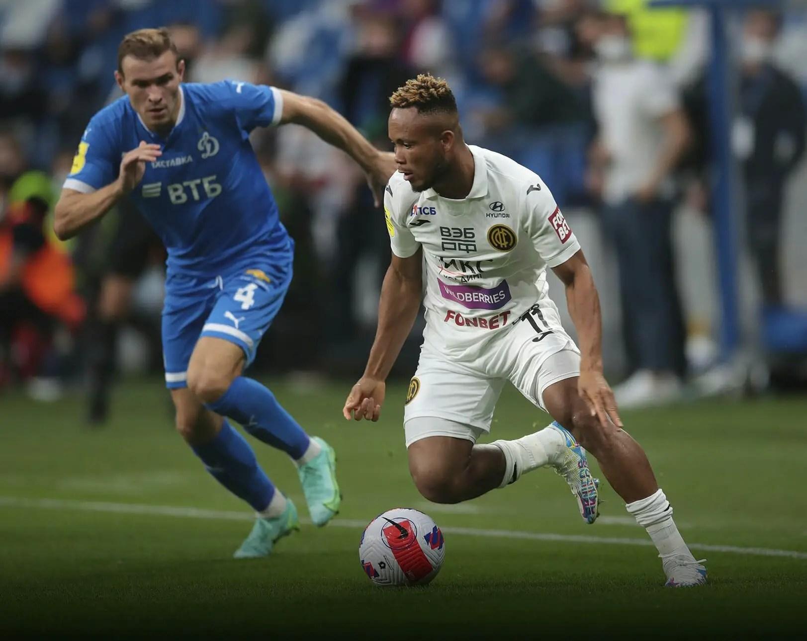 Russian League: Ejuke's Goal Not Enough As CSKA Suffer Defeat Again