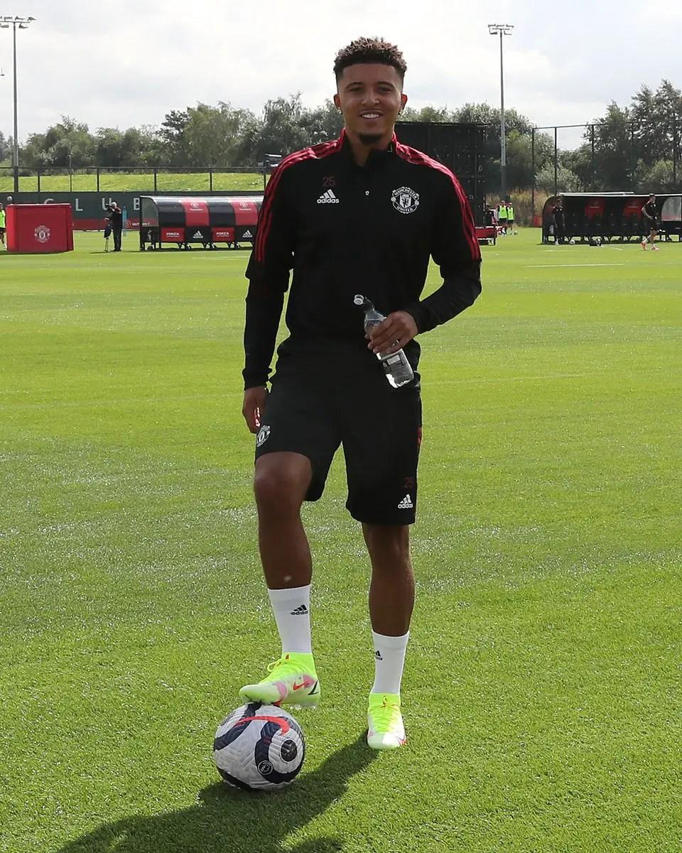 Sancho To Make Manchester United Debut Vs Leeds United