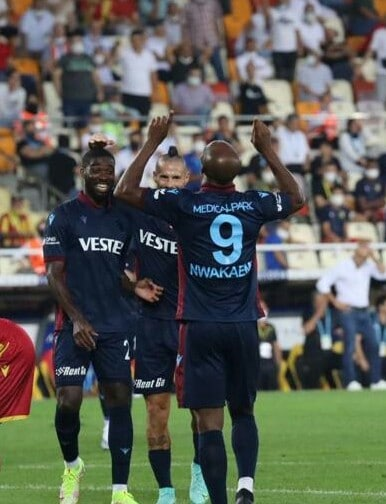 Turkish Super Lig: Nwakaeme Scores, Provides Assist As Trabzonspor Claim Big Away Win In League Opener
