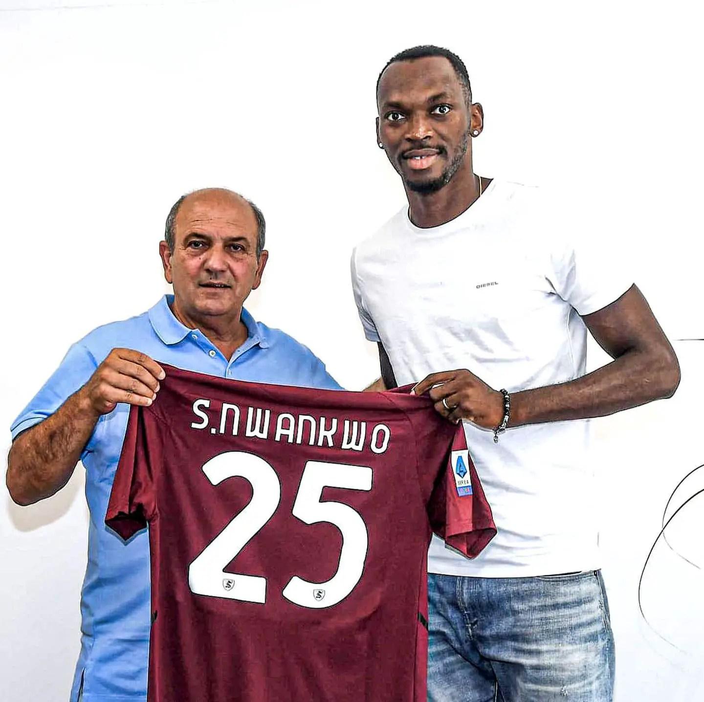 OFFICIAL: Simy Nwankwo Joins Serie A Club Salernitana On Loan