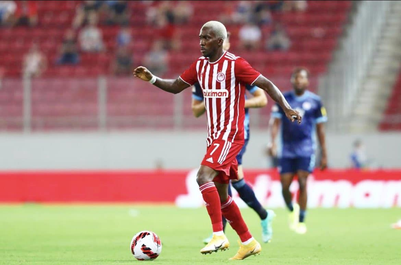 Onyekuru Delighted To Make  Olympiacos Debut