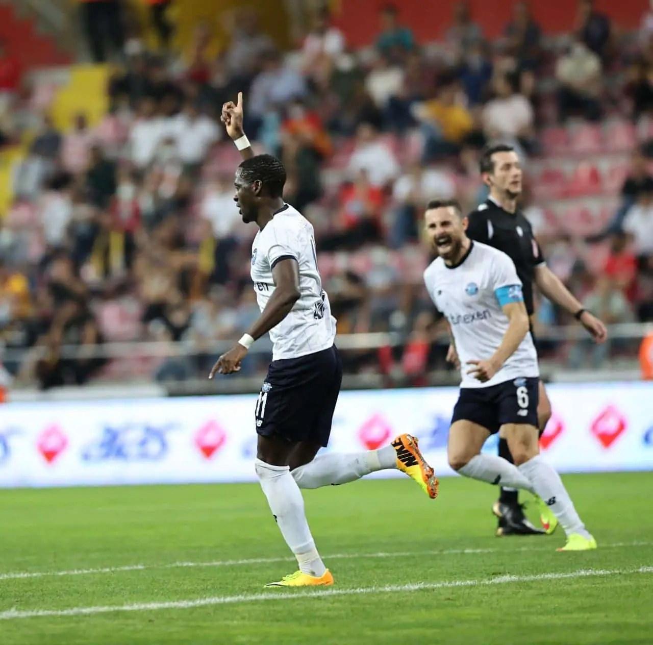 Turkey: David Akintola Rescues Point For Adana Demispor Against Kayserispor