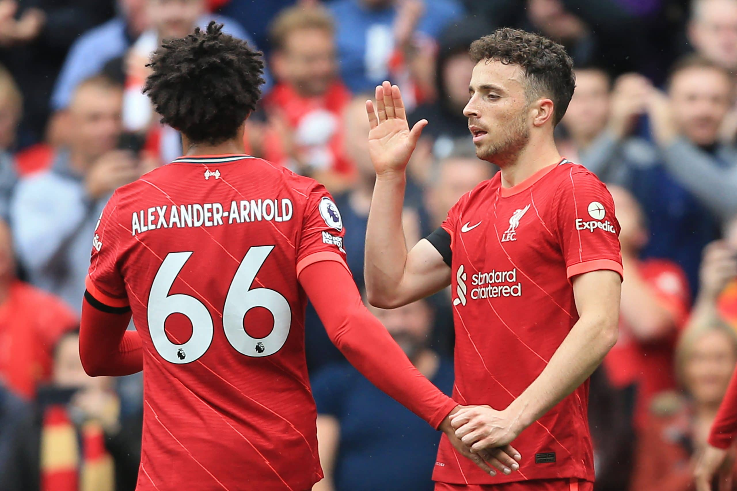 Premier League: Jota, Mane On Target As Liverpool Pip Burnley At Anfield