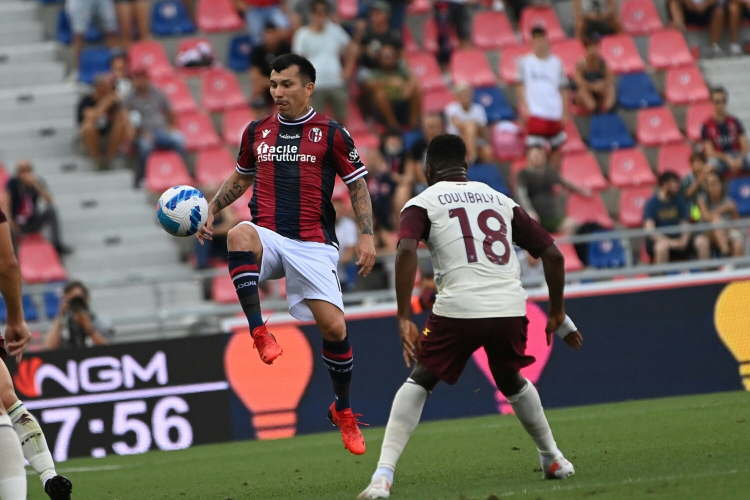 Simy, Obi In Action As Salernitana Lose Serie A Opener At Bologna