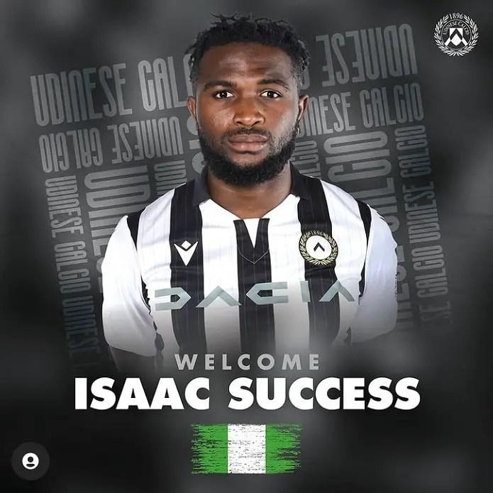 Gotti Hails Udinese New Boy Isaac Success