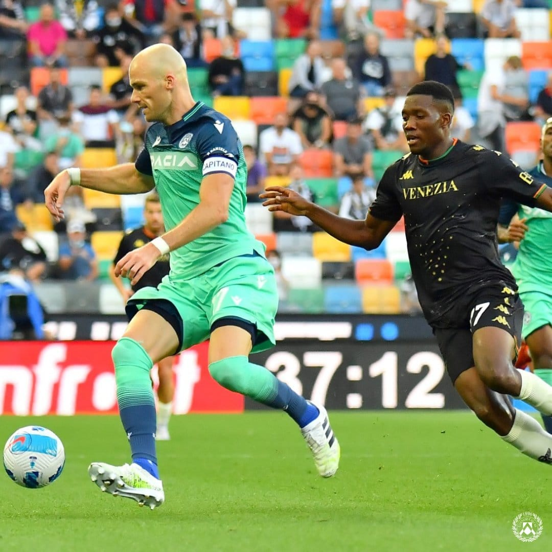 SERIE A: Success Benched As Udinese Thrash Ebuehi's Venezia To Claim First League Win